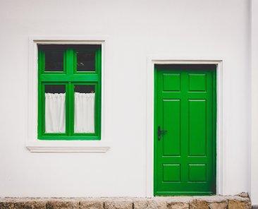 porta-e-finestra-verdi