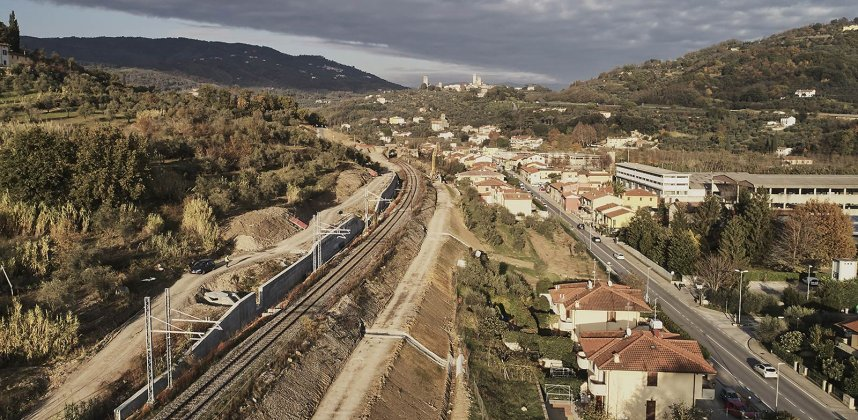 C.E.M.E.S. – Raddoppio Ferroviario